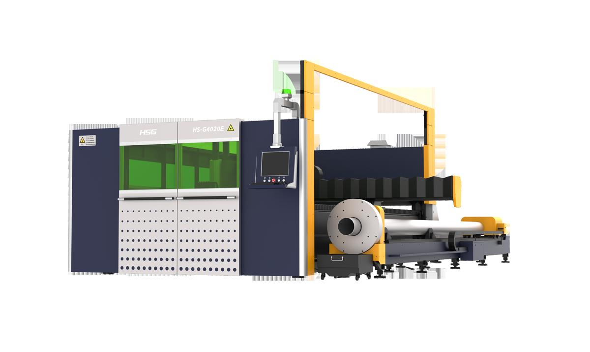 双平台板管一体激光切割机GE系列