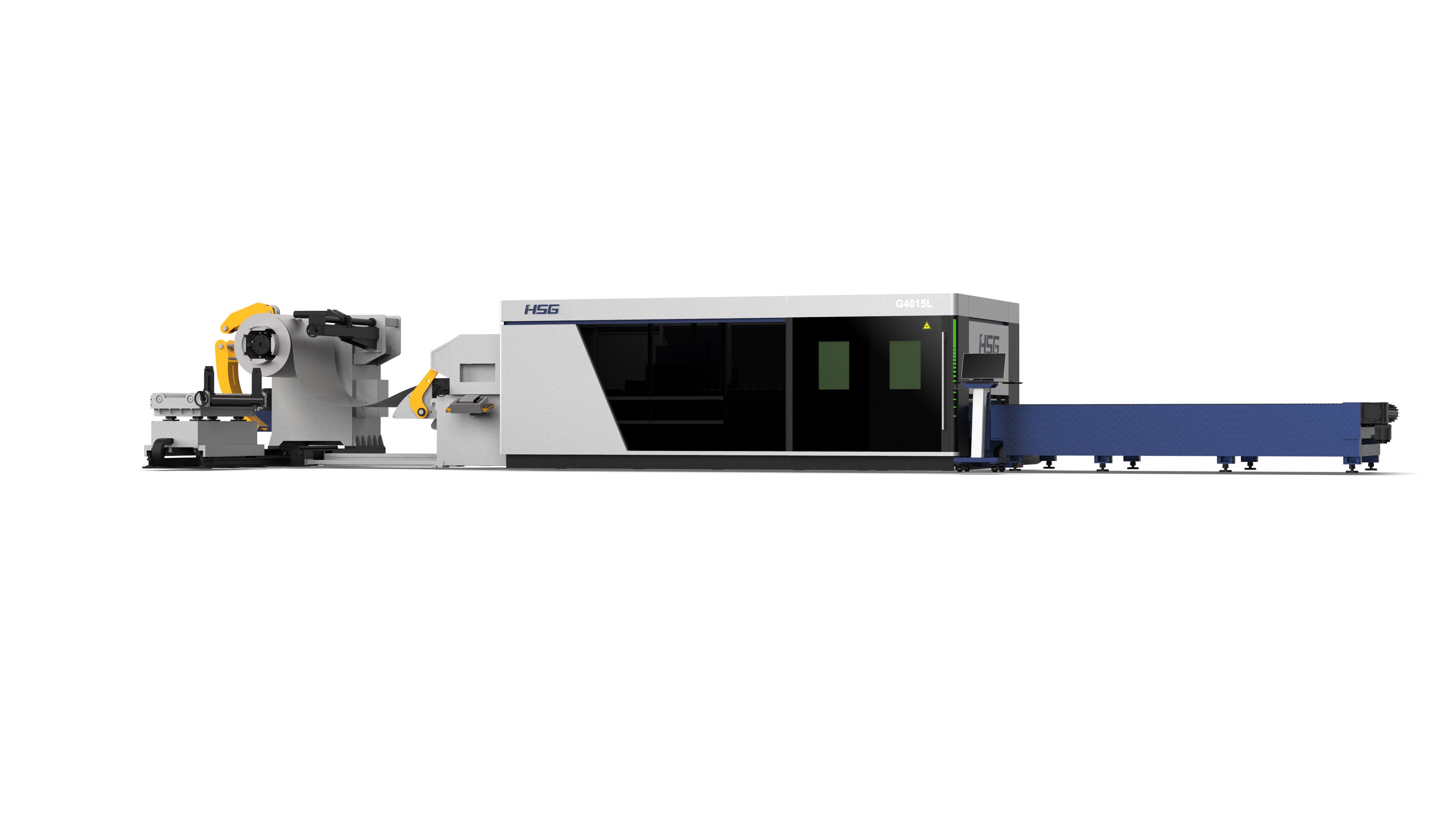 卷料激光切割机HS-GL系列